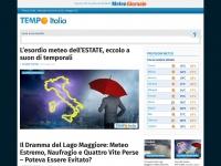 Tempoitalia.it - Il METEO in Italia di TEMPO ITALIA, previsioni meteo, diretta, news