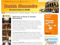 Welcome to Rome and Hostels Alessandro! | Hostels Alessandro