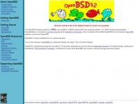 openbsd.org Thumbnail