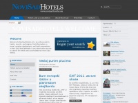 Novi Sad Hotels and accomodations, Serbia - Home