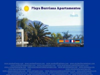 playaburrianaapartamentos.com