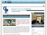 calidainternationalproperties.co.uk Thumbnail
