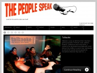 Thepeoplespeak.org.uk