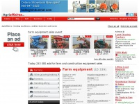 Agriaffaires | Farm Equipment & Agriculture Machinery (Tractor, ...)