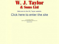 Wjtaylor.co.uk