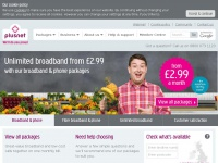 Plusnet  |  Home & Business Broadband Internet Access & Phone Services UK