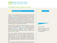 cadence1to1.co.uk