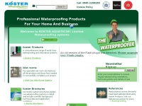 kosterwaterproofing.co.uk