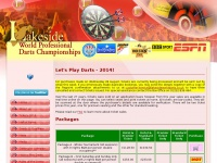 Schedule for 2014 Lakeside World Professional Darts Championships
