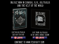 "THE TEA PARTY - ""Live from Australia"" OUT NOW"