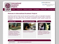 International Academic Projects