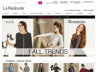 La Redoute : French fashion online, womenswear, menswear, kidswear, bedlinen, delivery in more than 150 countries !