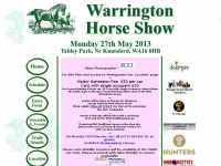 warringtonhorseshow.co.uk Thumbnail