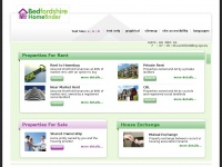 Bedfordshirehomefinder.co.uk - BedfordShire HomeFinder Home