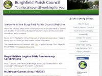 burghfieldparishcouncil.gov.uk