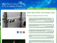 hursthorseshow.org.uk