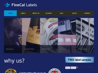 finecal-labels.co.uk Thumbnail