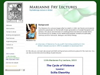 mariannefrylectures.co.uk
