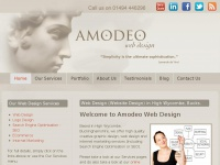 amodeowebdesign.co.uk Thumbnail