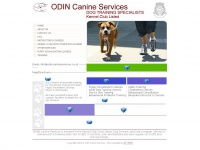 odincanineservices.co.uk