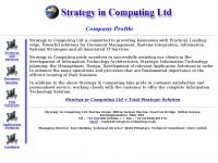 Strategy-in-computing.co.uk