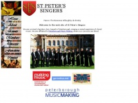 Stpeterssingers.org.uk