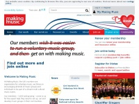 makingmusic.org.uk Thumbnail