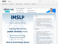 IMSLP/Petrucci Music Library: Free Public Domain Sheet Music