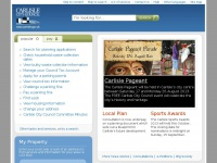 carlisle.gov.uk Thumbnail