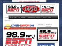 Espn 98.9FM, ESPN 910AM & Sports Radio 1450 AM - The Home of Charleston Sports Radio