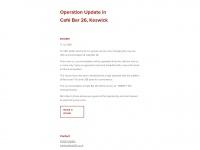 Cafebar26.co.uk