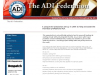 Theadifederation.org.uk