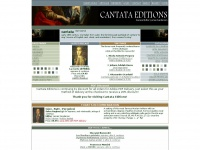 cantataeditions.com