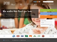 ConAgra Foods - making the food you love