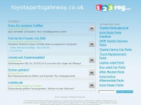Toyotapartsgateway.co.uk