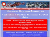Cheltenham Racecourse Car Boot Sale & Market, & Stratford Racecourse Car Boot Sale