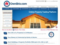 Ownbrix.com - OwnBrix - Online Property Trading Platform. Property Investment The Easy Way.