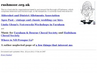 rushmoor.org.uk