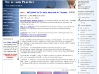 wilsonpractice.co.uk Thumbnail