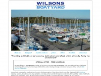 wilsonsboatyard.co.uk Thumbnail