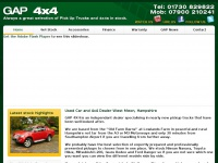 Used Cars and 4x4s West Meon | Gap 4x4 Ltd