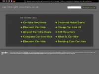car-hire-gift-vouchers.co.uk Thumbnail