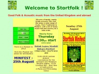 Stortfolk Music Club Home Page