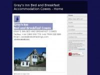 Gray's Inn Bed and Breakfast Accommodation Cowes - Home