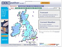 Xcweather.co.uk - Wind Map - Britain  Observations