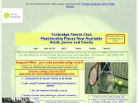 Tonbridgetennisclub.co.uk