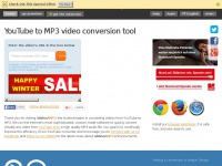 Video2mp3.net - YouTube to mp3 converter - free Youtube download video.