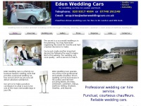 edenweddingcars.co.uk Thumbnail