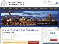 fixedprosthodontics.org