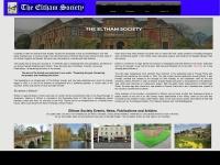 Theelthamsociety.org.uk